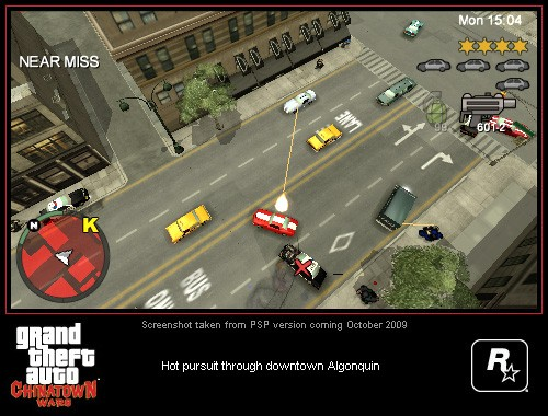 GTA-Series.com » GTA: Chinatown Wars » Galleria Sony PSP