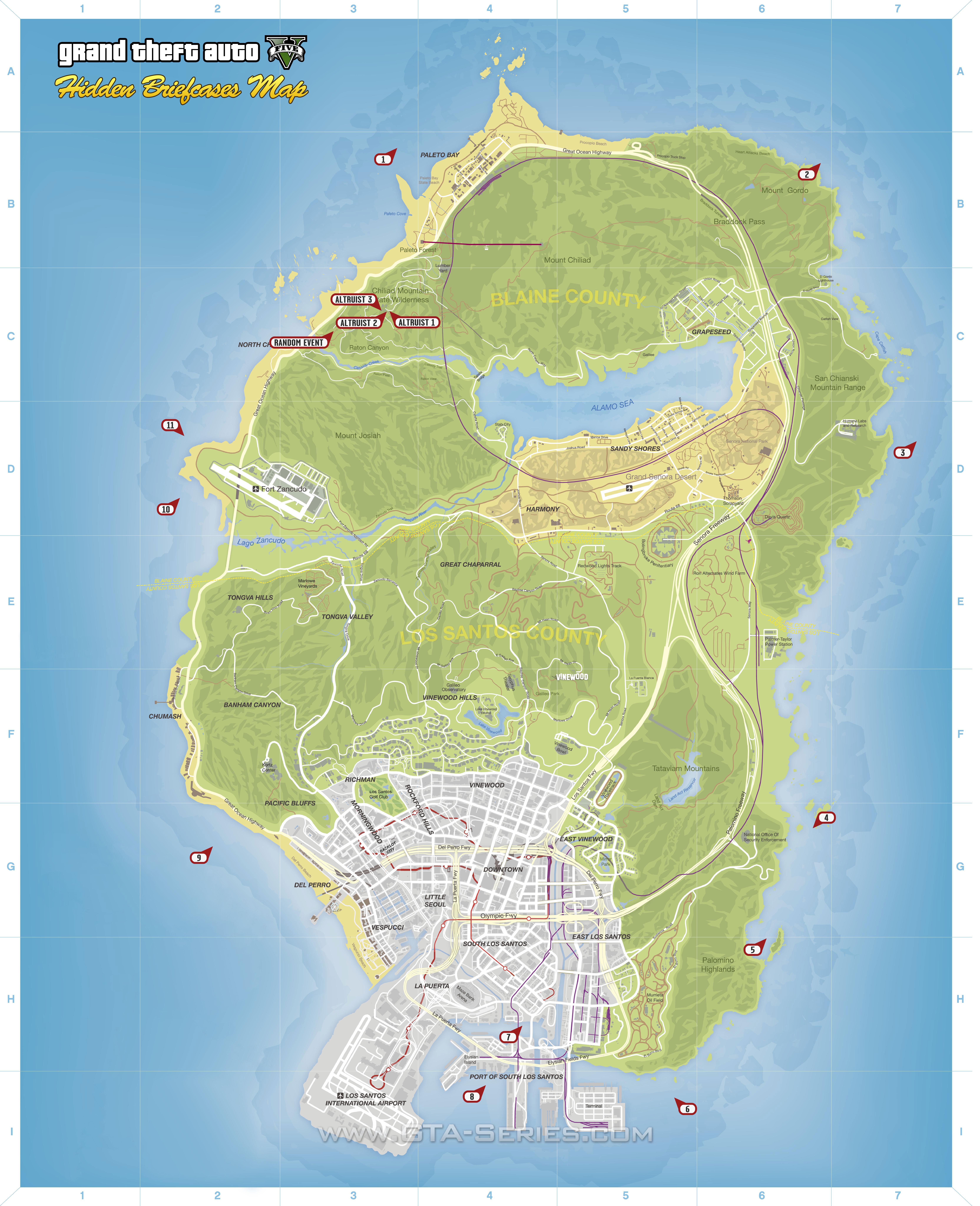 Gta V Elicottero Mappa : Gta series missioni secondarie