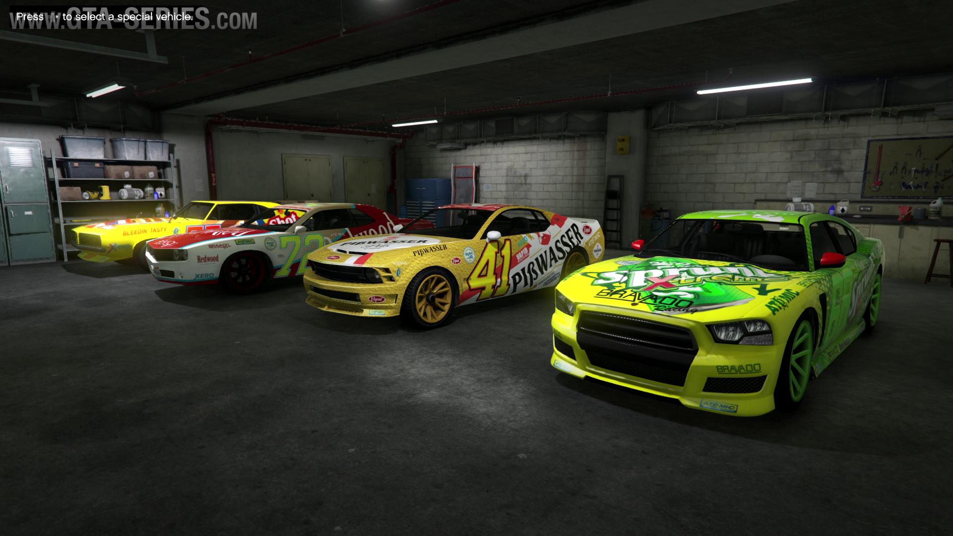 Muscle Car Races Gta
