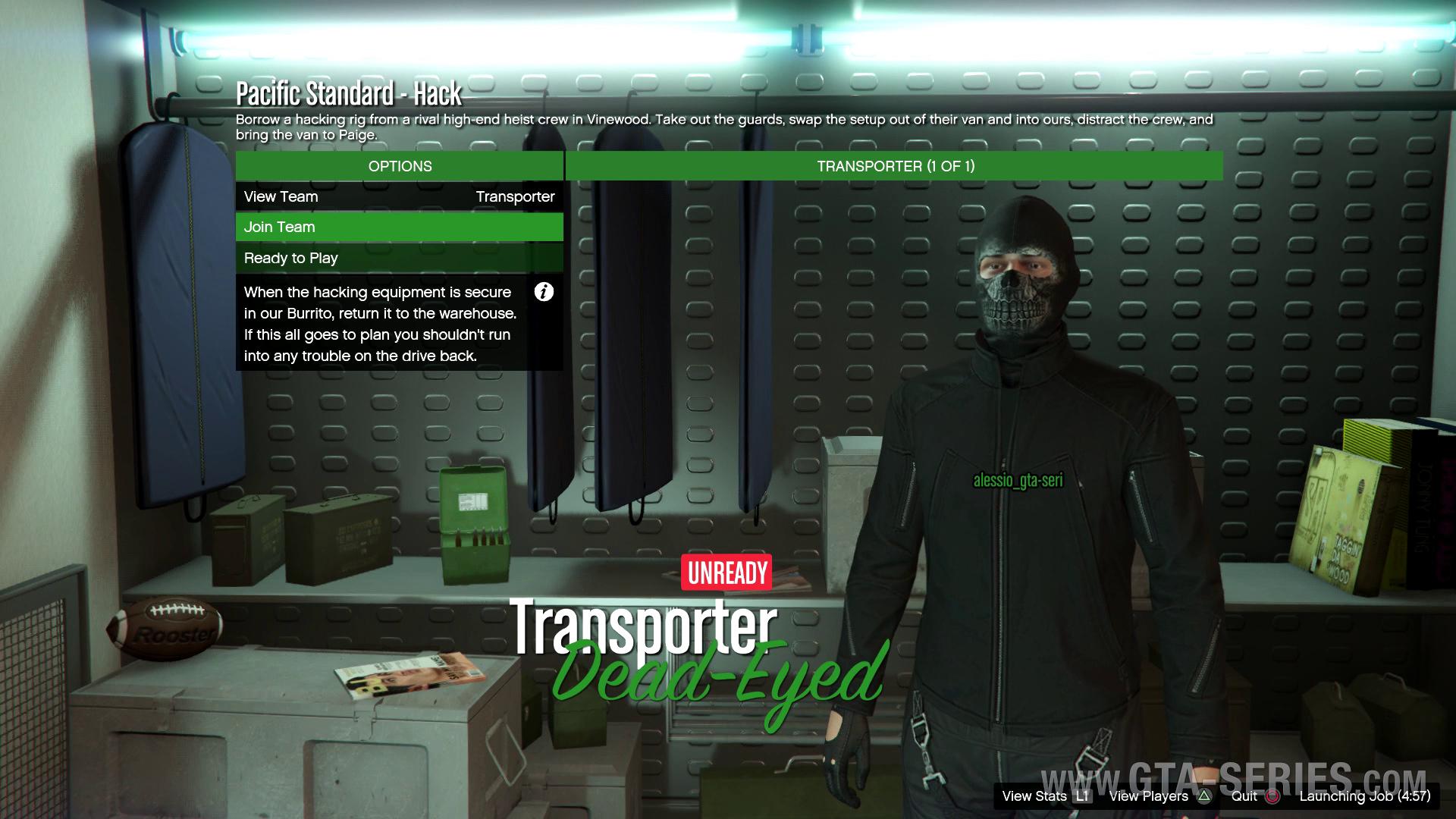 gta online pacific standard hacker