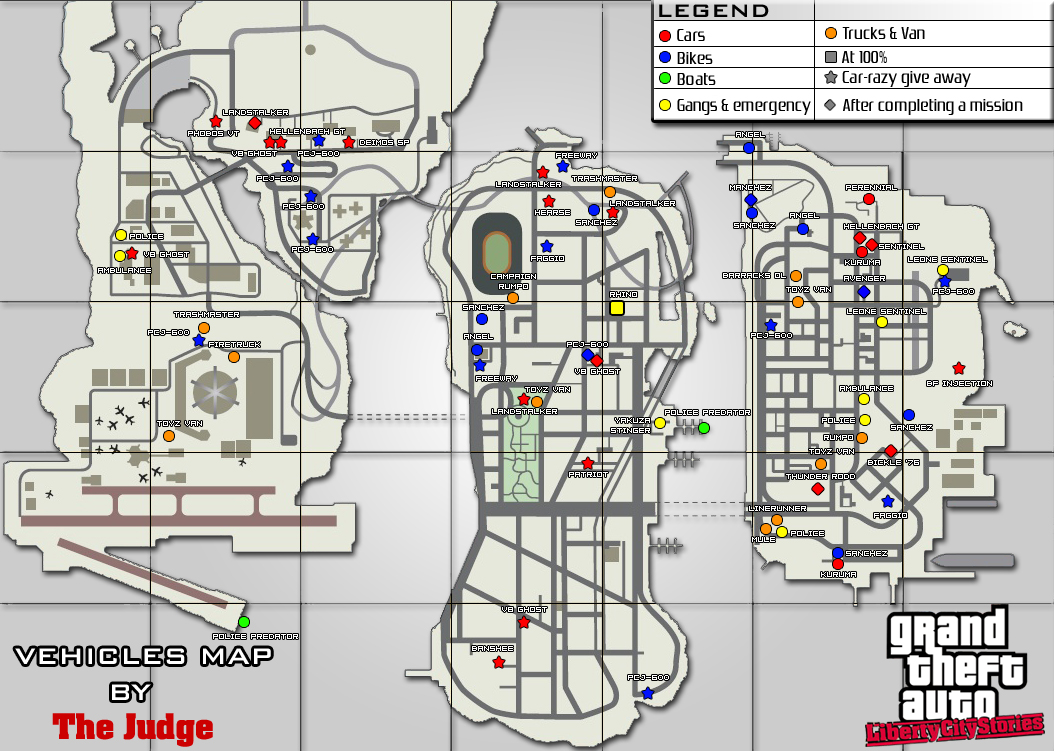Gta Liberty City Stories Psp Map gta -series.com » gta : lc stories ...