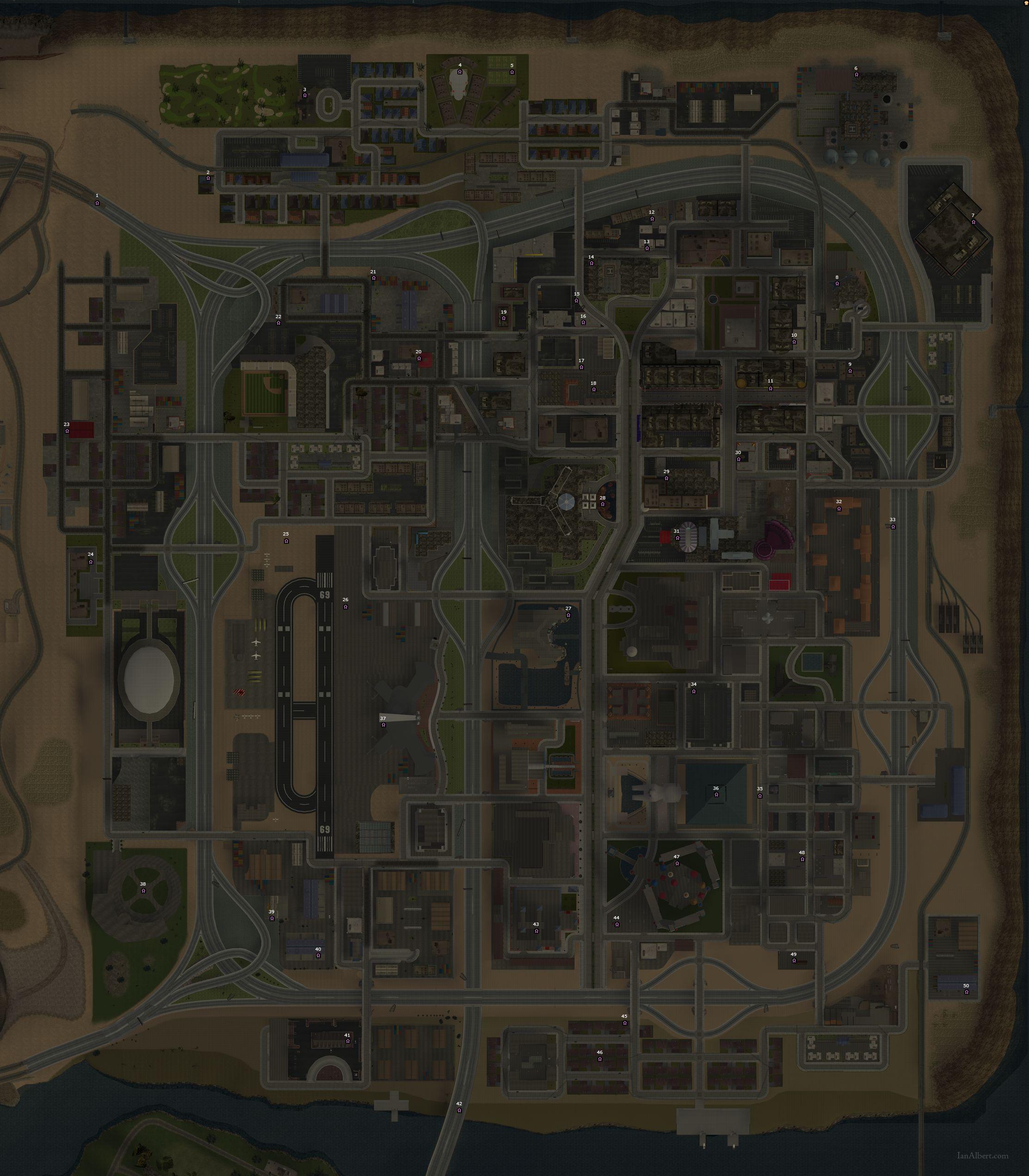 Mazzo Di Fiori Gta San Andreas.Gta Series Com Gta San Andreas Mappe